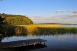 Charzykowskie  Lake and close...