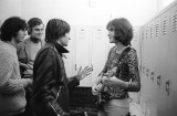 Ray Davies in Reed College locker room