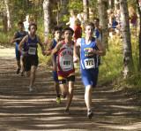 Lap one, JV race