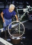 Wash those wheels