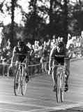 Fast Freddy Markham, left, and Carl Leusenkamp