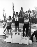 Nelson Saldana, Fast Freddy Markam, and Danny Van Haute