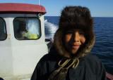 Gerald in beaver hat