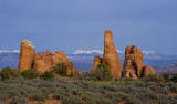 Fins and La Sal Mountains 01