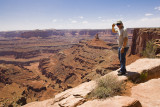 Charlie at Dead Horse Point Overlook
