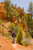 Charlie on Red Canyon Trail