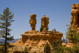 Red Canyon Statues