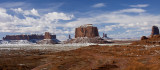 Monument Valley After Snowfall