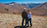 Paula and Charlie at Engineers Pass