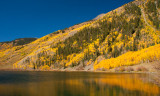 Aspen and Lake Near Red Mtn Pass