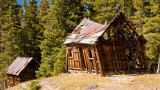 Old Miner's Cabin At Alta Lakes