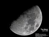 Moon, April 3, 2009