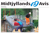 Midtjyllands Avis 080710 front page section 1