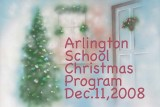 Arlington School Christmas Program