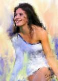 Georgia Tech Dancer By Jerry Pillarelli