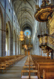 The central aisle - Domkyrka