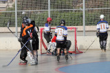 skate hockey tournament in Kfar Sava