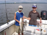 7/23/2010 DeVall Family Charter onboard Down Time Charters