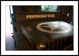 Photographer's jeep
