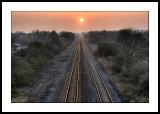 Sunlit rails