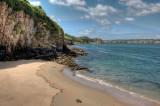 Caldey Island coast