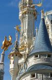 Cinderella's Castle DetailMagic Kingdom