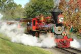 'Walter E. Disney' Steam EngineMagic Kingdom