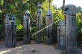 Spouting Tiki HeadsAdventurelandMagic Kingdom