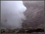 Mt Bromo: Looking into the crater