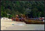 Eastern part of Ton Sai beach