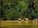 Canoeing in Khao Sok