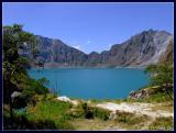 Pinatubo's crater lake