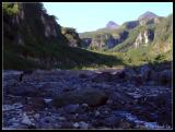 Rocky paths leading to Pinatubo