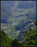 View on valley from Halsema