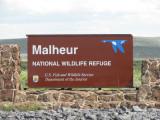 Malheur Sign