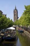 Oude Delft, café boats