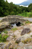 Ashness Bridge in summer