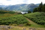 Walla Crag, looking southward