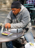 chess player at Union Square