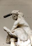 Giambologna's Hercules beating the Centaur