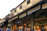 shops on the Ponte Vecchio