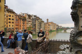 view from the Ponte Vecchio