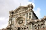 façade of Duomo, upper part