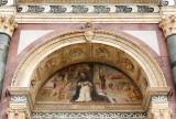 Santa Maria Novella, detail façade