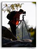 A True Photographer at Work.