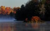 Sunrise at Lake Jean