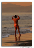 Candid: Posing on the Beach ;o)