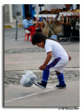 Soccer in Otavalo