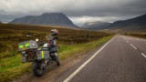 My BMW GSA on the Lonely Road to Glencoe