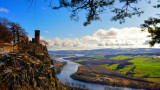 River Tay from Kinnoull Hill Perth